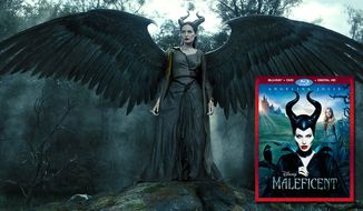 Maleficent starring Angelina Jolie as the famed Disney viallian is now on Blu-ray. (Courtesy of Walt Disney Home Video)