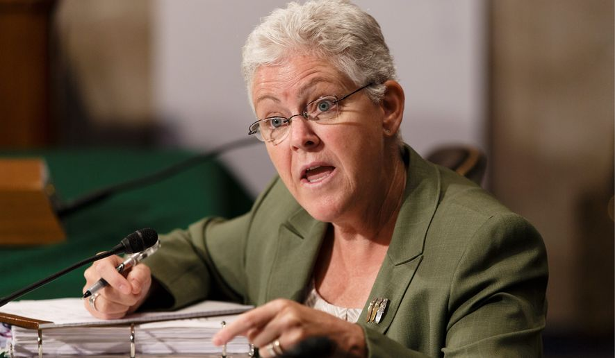 EPA Administrator Gina McCarthy (Associated Press) **FILE**
