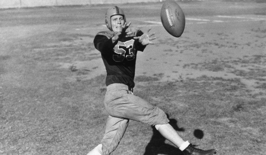 Jack Lummus of Baylor University in November 1939. (AP Photo)