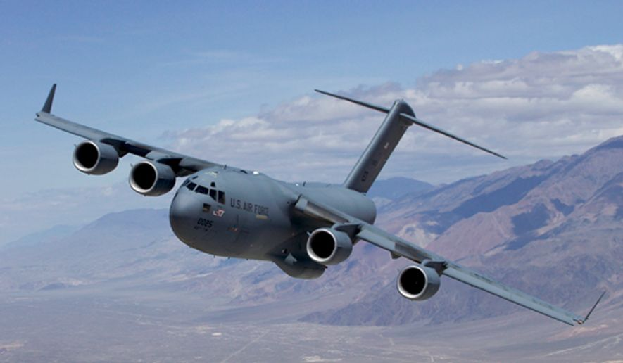 The C-17 Globemaster III T-1 (U.S. Air Force)