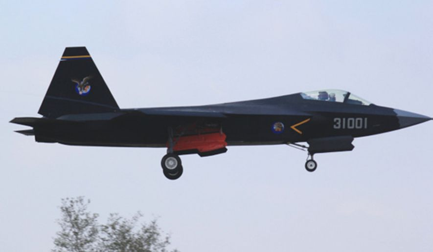 China's Shenyang-J-31 stealth fighter jet (also called FC-31). (Image: United States Naval Institute)