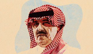 Miteb bin Abdullah Illustration by Greg Groesch/The Washington Times