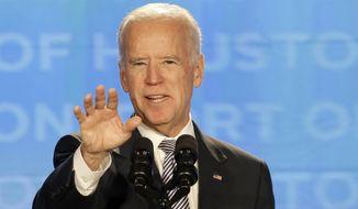 Vice President Joseph R. Biden. (AP Photo/Pat Sullivan)