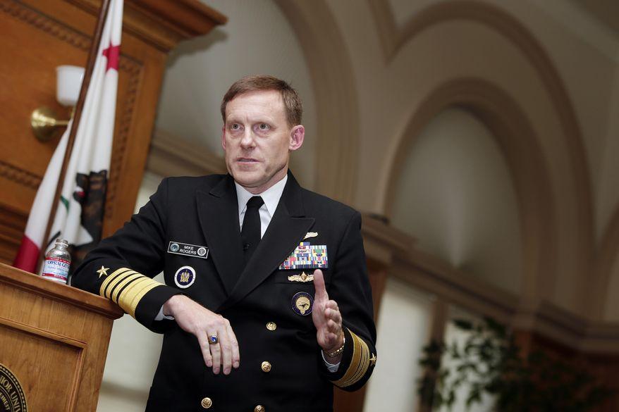 National Security Agency director Mike Rogers  (AP Photo/Marcio Jose Sanchez)