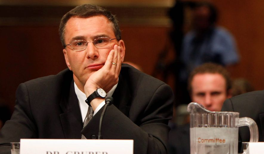 Jonathan Gruber has put the Obama administration in a tough spot as it defends the Affordable Care Act. (Associated Press) ** FILE **