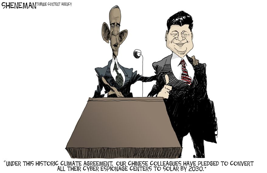 Illustration by Drew Sheneman of the Tribune Media Services