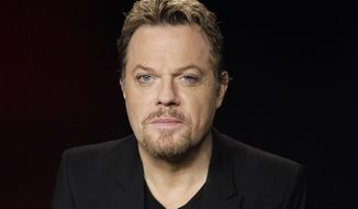 In this file April 30, 2012 photo, Eddie Izzard poses for a portrait in Los Angeles. (AP Photo/Richard Vogel, File)