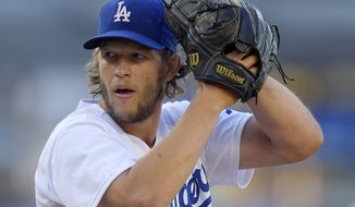 Clayton Kershaw, the Los Angeles Dodgers ace, breezed past Miami slugger Giancarlo Stanton and Pittsburgh outfielder Andrew McCutchen for the NL award. (Associated Press)