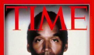 O.J. Simpson, Time Magazine, June 1994 **FILE**