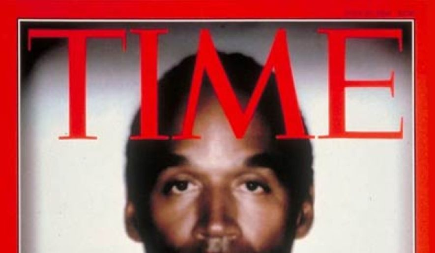 O.J. Simpson, Time Magazine, June 1994 **FILE**