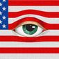 Government Surveillance Eyeball Flag Illustration by Greg Groesch/The Washington Times