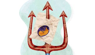 DC Abortion Law from Hell Illustration by Greg Groesch/The Washington Times