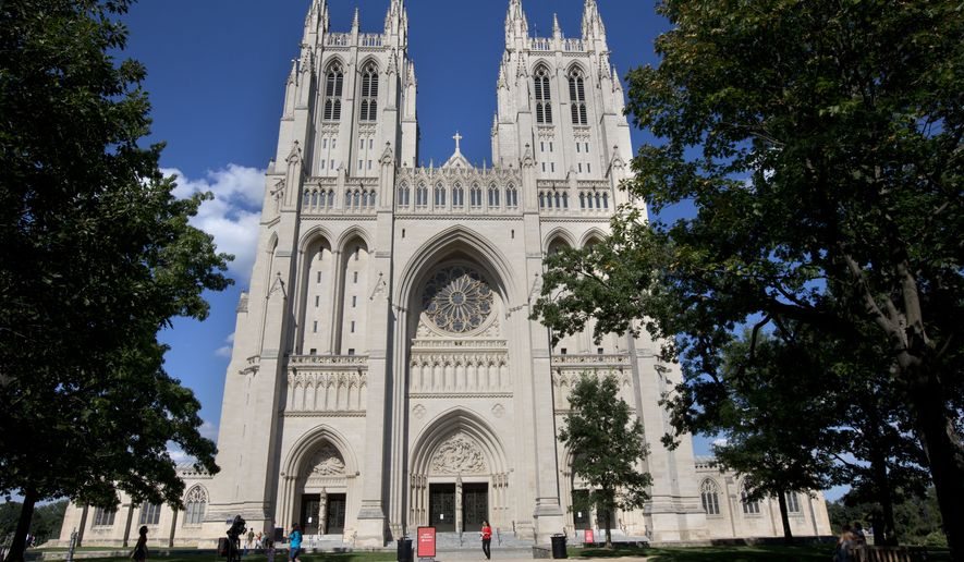 The Washington National Cathedral in D.C. (Associated Press) **FILE**