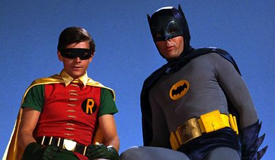 The Dynamic Duo, Batman and Robin, return from the 1960s in the Blu-ray collection Batman: The Complete Television Series.
