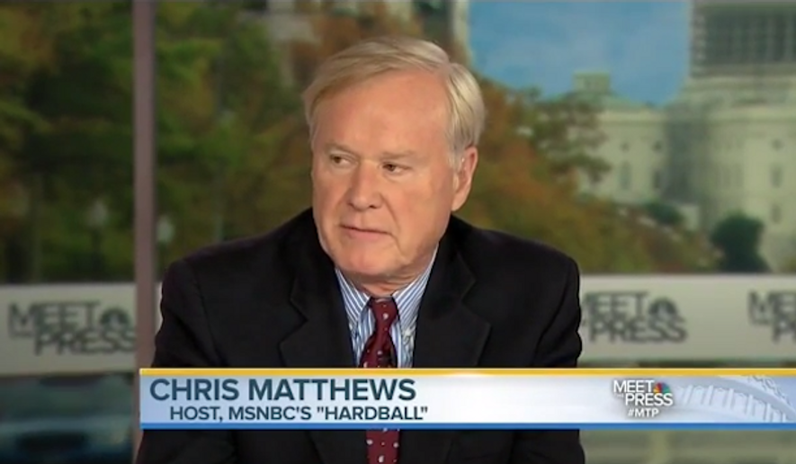 Chris Matthews. (YouTube) ** FILE **