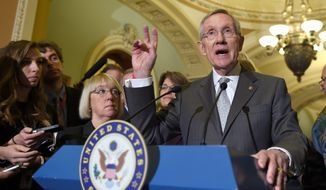 Senate Majority Leader Harry Reid has complained that House Republicans have not passed a broad immigration bill approved in his chamber, but he has not sent it to the other side of the Capitol. (Associated Press)