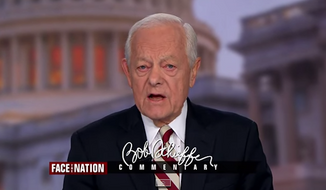 "CBS News anchor Bob Schieffer said Sunday morning that he was ""dumbstruck"" by the controversial comments by Obamacare architect Jonathan Gruber, arguing that if the law is as bad as Mr. Gruber says, he should have no problem returning the money he made off of it back to the American people. (CBS News via Real Clear Politics)"