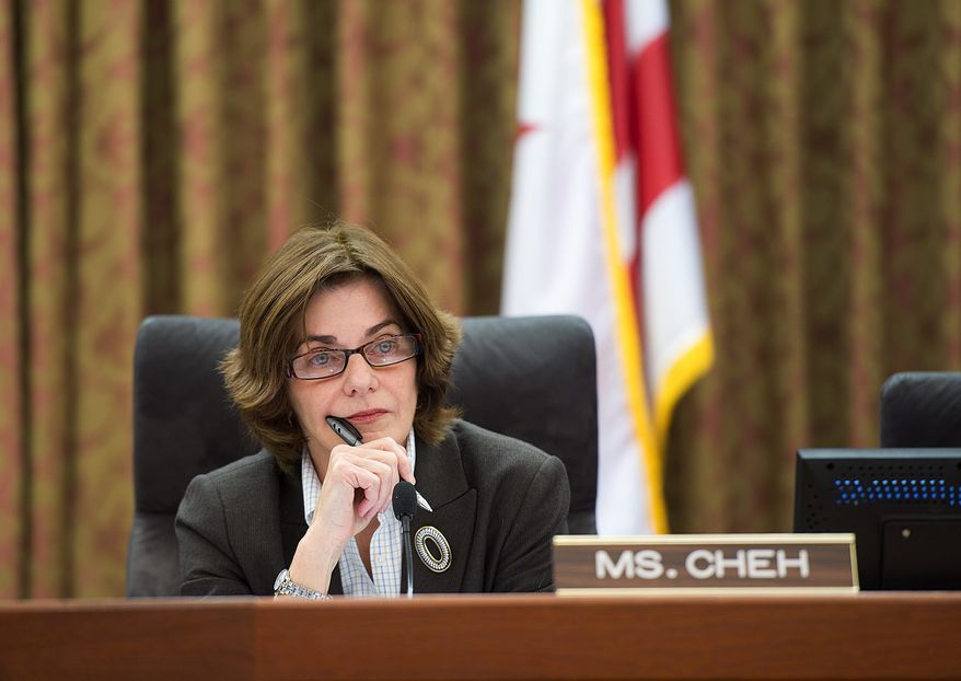 The D.C. Council's proposal, introduced in January 2013 by council member Mary M. Cheh, Ward 3 Democrat, would create a timeline for the asset forfeiture process and would require the District to inform owners within 10 business days of a seizure that the city was seeking forfeiture of property. (The Washington Times)