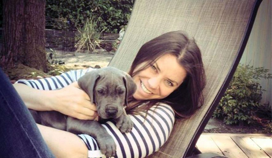 "This undated file photo provided by the Maynard family shows Brittany Maynard, a terminally ill woman who decided to end her life early under an Oregon law. She died Nov. 1, 2014. The Catholic Church has called Maynard's decision to die ""reprehensible"" and said physician-assisted suicide should be condemned. (AP Photo/Maynard Family, File)"