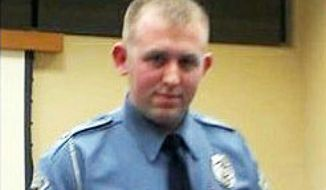 Ferguson Police Officer Darren Wilson (Facebook photo)