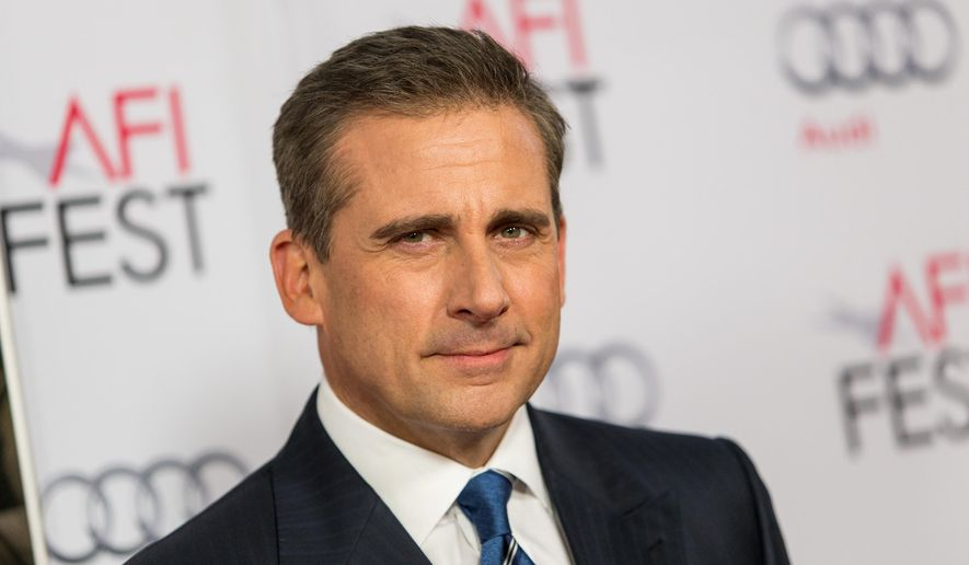 """In this Nov. 13, 2014 file photo, actor Steve Carell attends a special screening of """"Foxcatcher"""" during the AFI FEST 2014 in Los Angeles. Carell portrays John du Pont, a millionaire convicted of third-degree murder in the death of Dave Schultz, an Olympic champion freestyle wrestler. (Photo by Paul A. Hebert/Invision/AP, File)"""