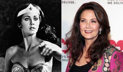 Actress Lynda Carter is a real 'Wonder Woman' at age 63.