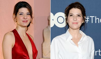 Academy Award winning actress Marisa Tomei looks amazing at 49.