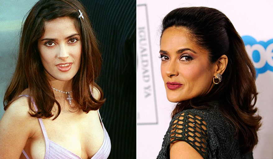 Salma Hayek's first movie was 19 years ago, when she was cast in Desperado. Motherhood and two decades later, she looks better than ever at 48.