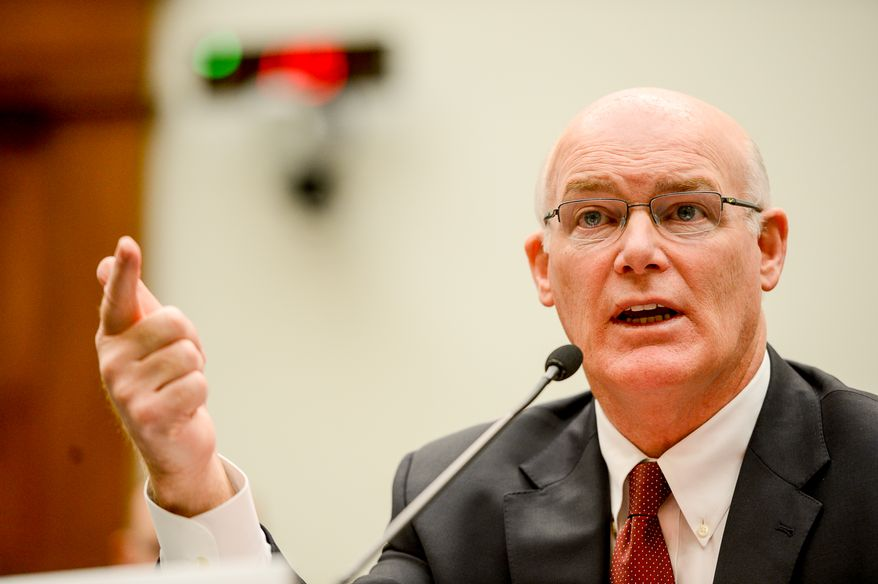 United States Secret Service Acting Director Joseph P. Clancy testifies in front of the House Judiciary Committee which oversees the Secret Service, Washington, D.C., Wednesday, November 19, 2014. (Andrew Harnik/The Washington Times)