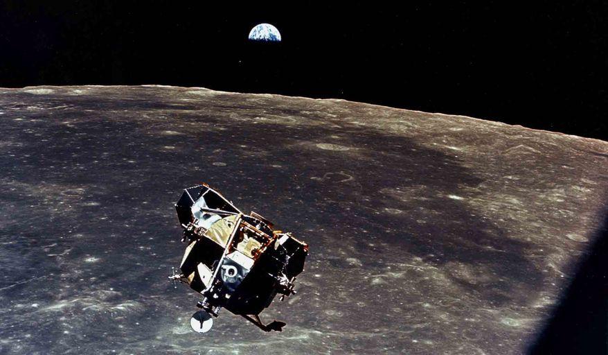 Apollo 11 begins the return trip to earth. Source: NASA