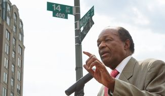 As a D.C. Council member representing Ward 8, Marion Barry represented the city's most downtrodden and least-educated residents. (The Washington Times)