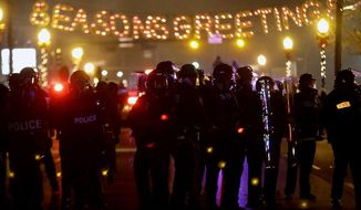 Stunning scenes of violence in Ferguson