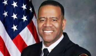 "Atlanta Fire Chief Kelvin Cochran has been fired for authoring a Christian book in 2013 that described homosexuality as a ""sexual perversion."" (atlantaga.gov)"