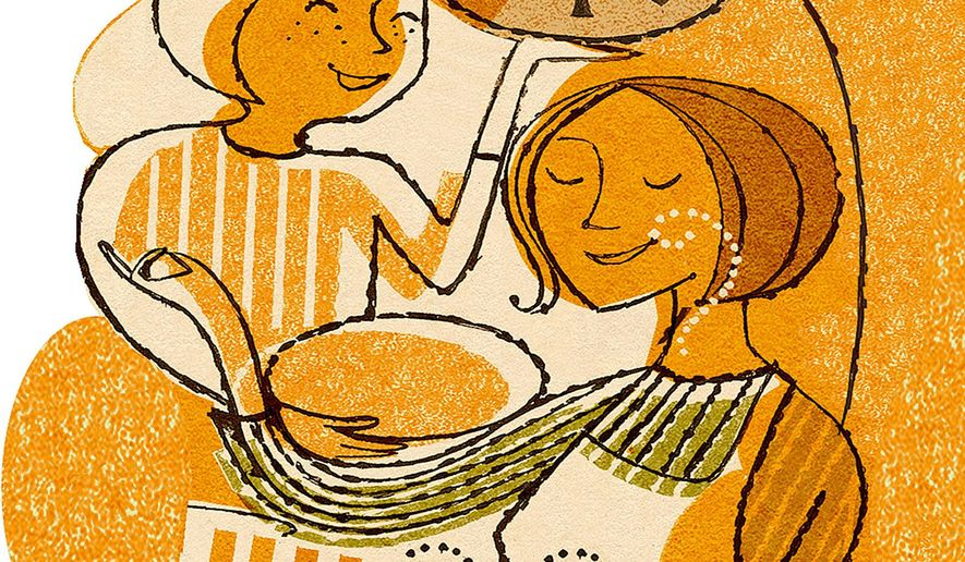 Illustration on Thanksgiving by Donna Grethen/Tribune Content Agency