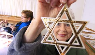 An 1895 Pennsylvania state law, still in effect, bars religious symbols and garb, such as the Star of David, from public schools. (AP Photo/Anderson Independent-Mail, Ken Ruinard)