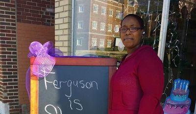 """Natalie Dubose, who owns a bakery in Ferguson, Missouri, says she is """"so humbly blessed"""" after receiving nearly $100,000 in online donations to repair her shop that was damaged by looters. (gofundme.com)"""