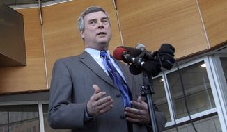 St. Louis County prosecutor Bob McCulloch. (AP Photo/Tom Gannam)
