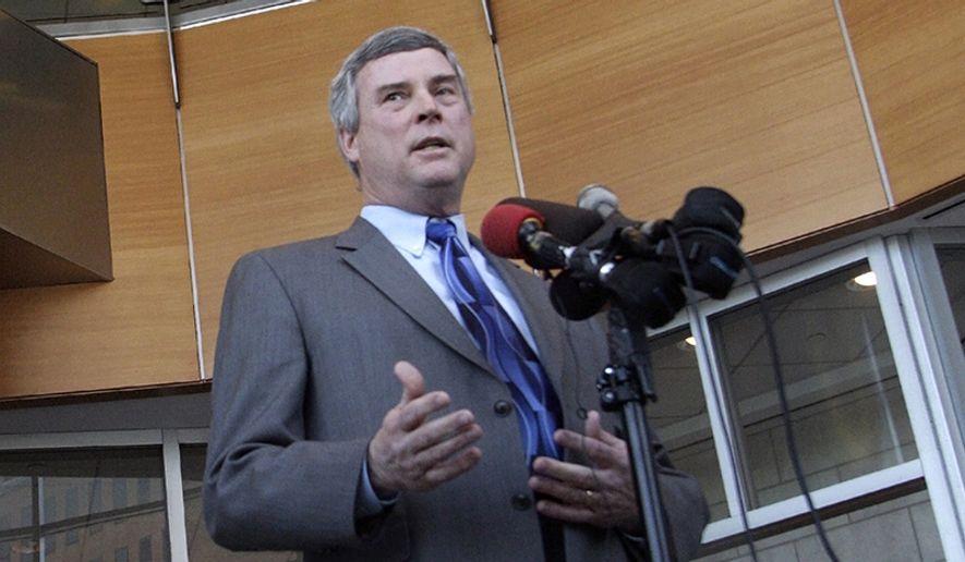 St. Louis County prosecutor Bob McCulloch. (AP Photo/Tom Gannam)