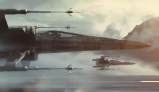 """The trailer for """"Star Wars: Episode VII — The Force Awakens"""" was released on Friday, Nov. 28, 2014. (YouTube)"""