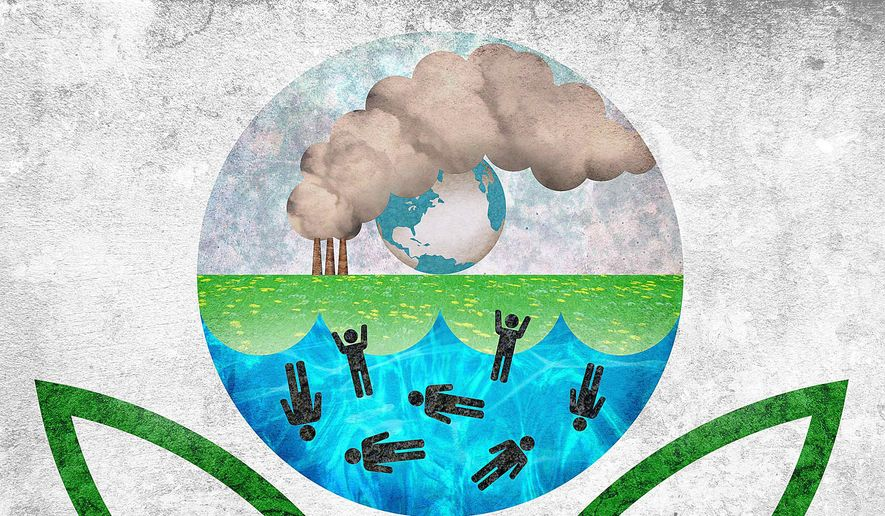 EPA Imposing Expensive Green Energy Illustration by Greg Groesch/The Washington Times