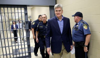 National Republican Senatorial Committee is hosting a serious fundraiser for Rep. Bill Cassidy and his fight to best Sen. Mary Landrieu in the U.S. Senate runoff in Louisiana on Saturday. (Associated Press)