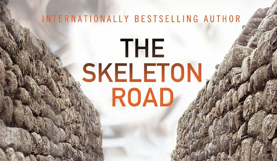 """This image released by Grove/Atlantic shows the cover of """"The Skeleton Road,"""" by Val McDermid. (AP Photo/Grove/Atlantic)"""