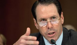 AT&T President and CEO Randall Stephenson and other corporate chiefs on Wednesday at the Business Roundtable in Washington will press President Obama and congressional leaders to approve a package of corporate tax breaks. (Associated Press)