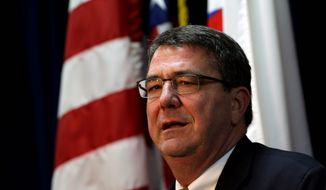 The White House offered praise of Deputy Secretary of Defense Ashton Carter Monday, but would not confirm rumors that he is the front-runner to replace his boss, Defense Secretary Chuck Hagel. The Senate confirmed him for his previous Pentagon post by unanimous consent. (Associated Press)