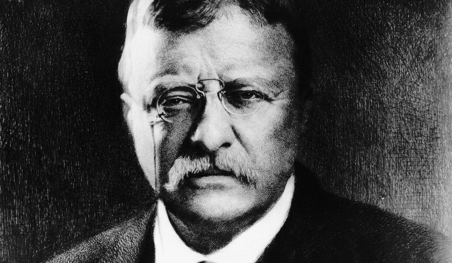 "FILE - This undated file photo shows Theodore ""Teddy"" Roosevelt, the 26th president of the United States.  Roosevelt is part of an inaugural class of 12 people that will be inducted into the newly formed Montana Outdoor Hall of Fame on Dec. 6, 2014,  at a ceremony in Helena., Mont.AP Photo/File)"