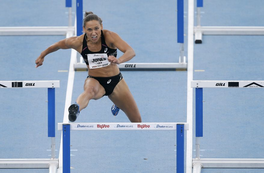 LOLO JONES -TRACK & FIELD