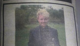In a show of support for her transgender son, Yolanda Bogert, of Jimboomba, Australia, has taken out a newspaper ad to correct and retract a 19-year-old birth announcement that labeled her son a girl. (Twitter/Lisa Dart)