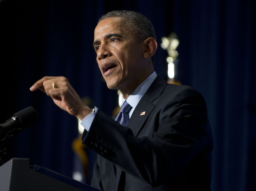 But political analysts say President Obama, despite noble intentions, is taking a risk on two fronts by consistently addressing accusations of police misconduct and the fallout, including this week's decision by a grand jury in New York City not to charge a police officer in the choking death this summer of a 43-year-old black man. (Associated Press)