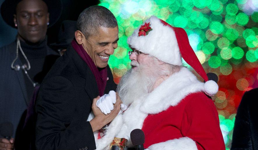 Obama Christmas.Obama Administration To Regulate Christmas Lights
