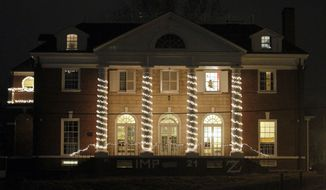 "This Friday, Dec. 5, 2014, photo shows the Phi Kappa Psi fraternity house at the University of Virginia in Charlottesville, Va. On Friday, Rolling Stone magazine cast doubt on its story of a young woman who said she was gang-raped at a party by the fraternity at the University of Virginia, saying it has since learned of ""discrepancies"" in her account. (AP Photo/The Daily Progress, Ryan M. Kelly) **FILE**"